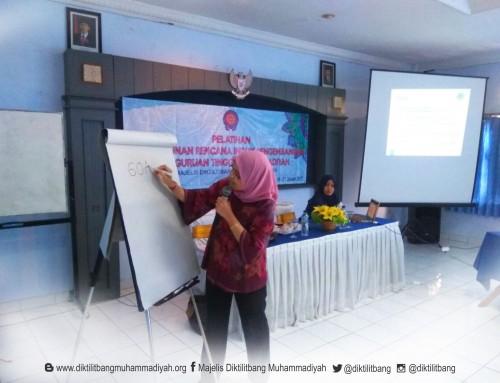 Pelatihan Penyusunan Rencana Induk Pengembangan Perguruan Tinggi Muhammadiyah
