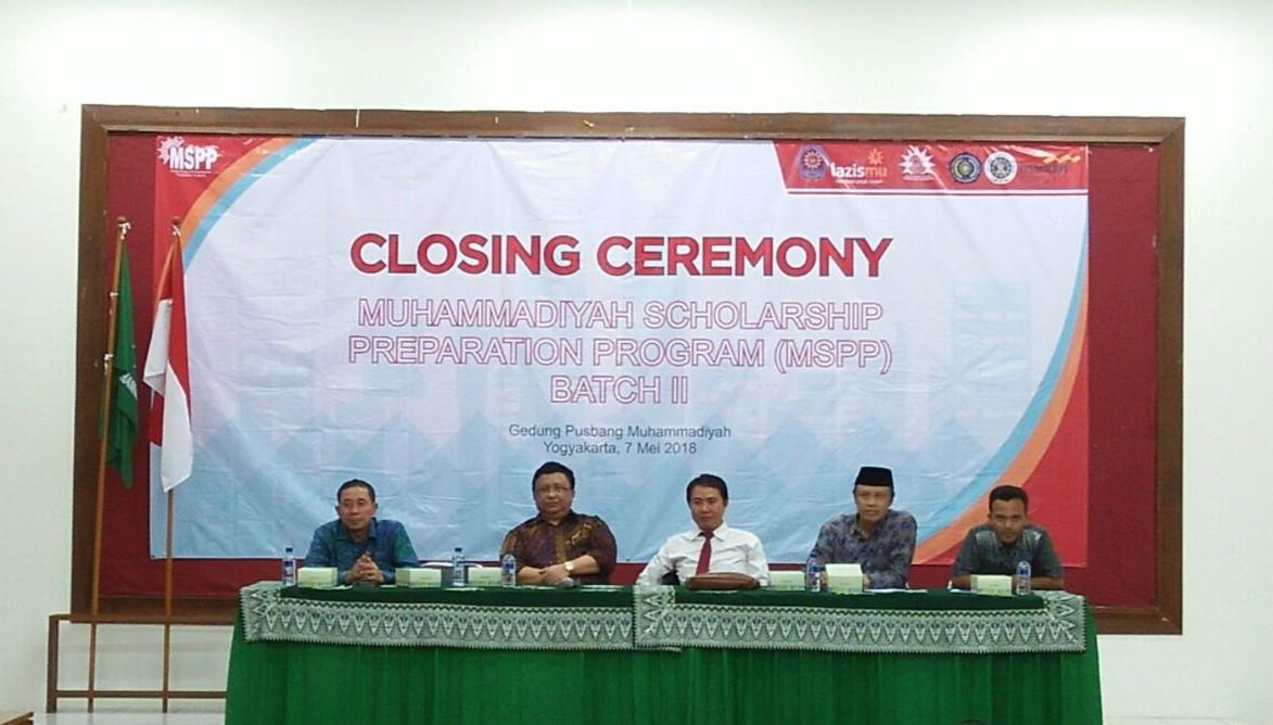 Closing Ceremony MSPP Batch II