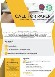 Cal For Paper @ UM Sumatera Utara | Sumatera Utara | Indonesia