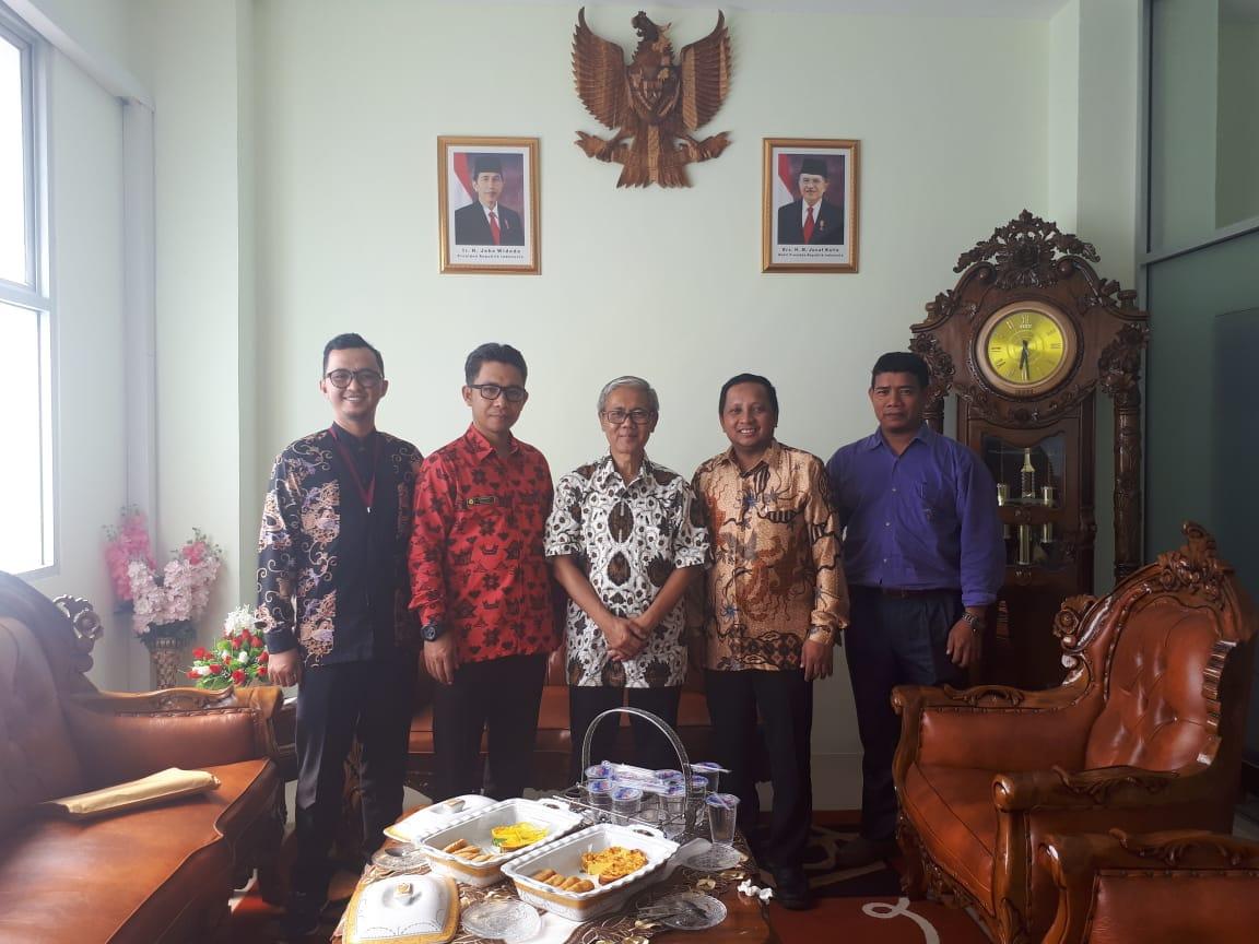 Majelis Diktilitbang Muhammadiyah Berkunjung ke STIK Muhammadiyah Pontianak
