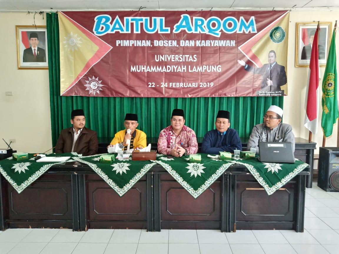 UM Lampung Selenggarakan Baitul Arqom Gelombang Ke-2