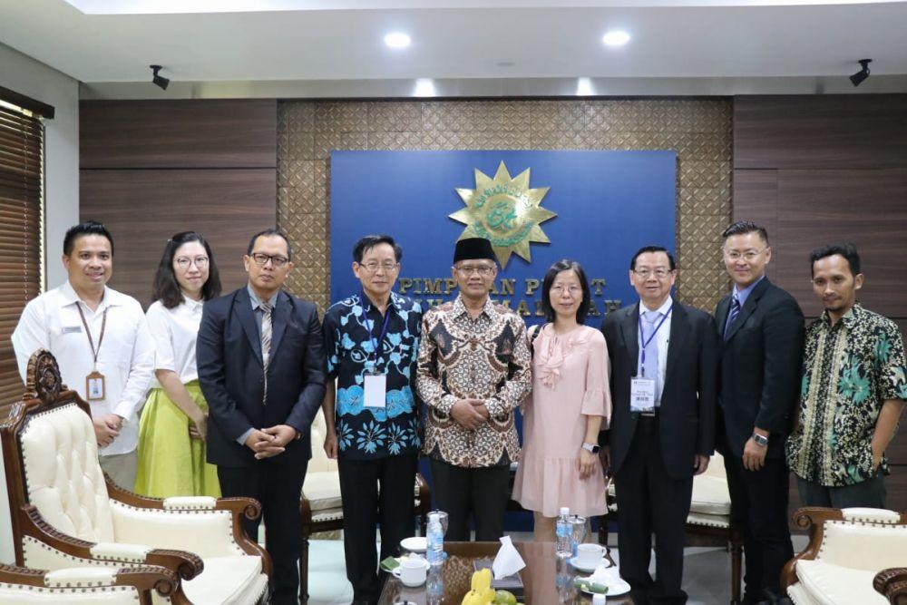 Tingkatkan Bidang Pendidikan, Muhammadiyah-Taiwan Jalin Kerjasama