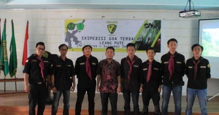 Tim Caving Hiawata FT UM Palembang Jelajahi Goa Leang Pute
