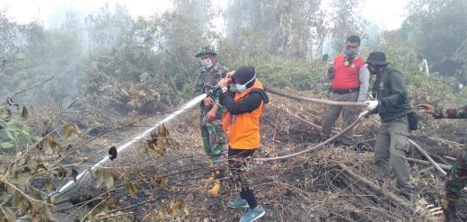 Mapala Umri Tinjau Langsung Karhutla Riau