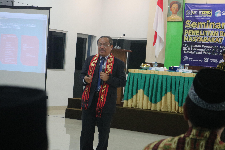 Prof Suyatno: Riset Tidak Berdaya Saing Hanya Tumpukan Kertas