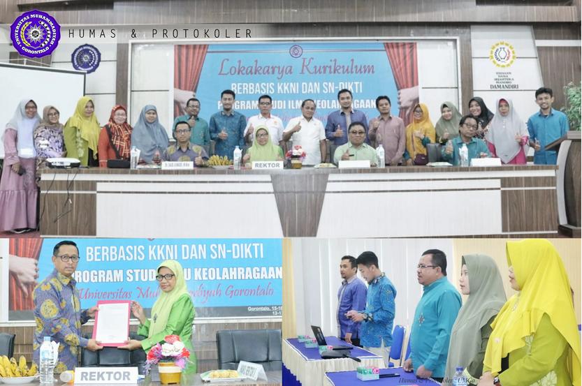 UM Gorontalo Persiapkan Prodi Ilmu Keolahragaan