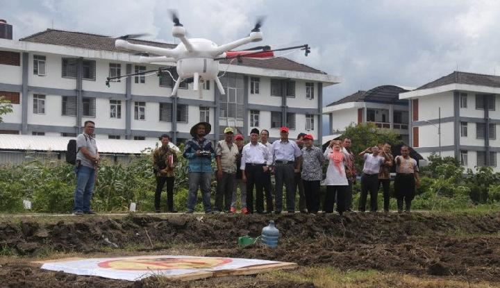 Dosen UMM Ciptakan Drone Canggih Untuk Pertanian