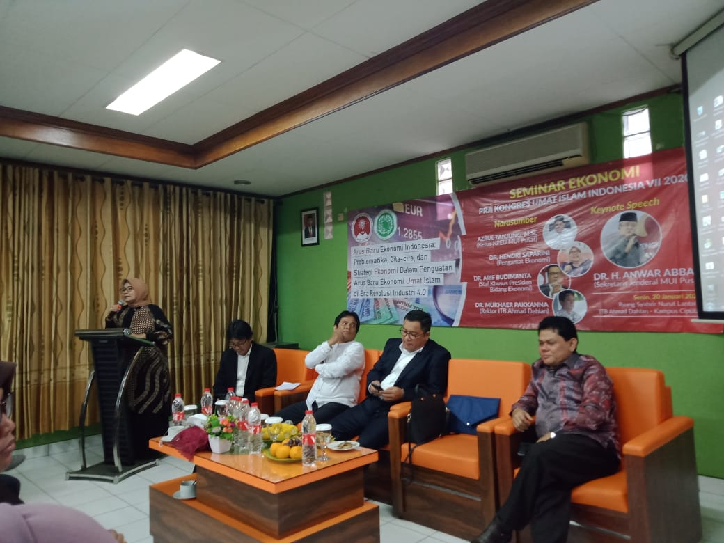 ITB Ahmad Dahlan Bersama MUI Gelar Seminar Ekonomi Pra Kongres Umat Islam Indonesia (KUII) ke-VII 2020
