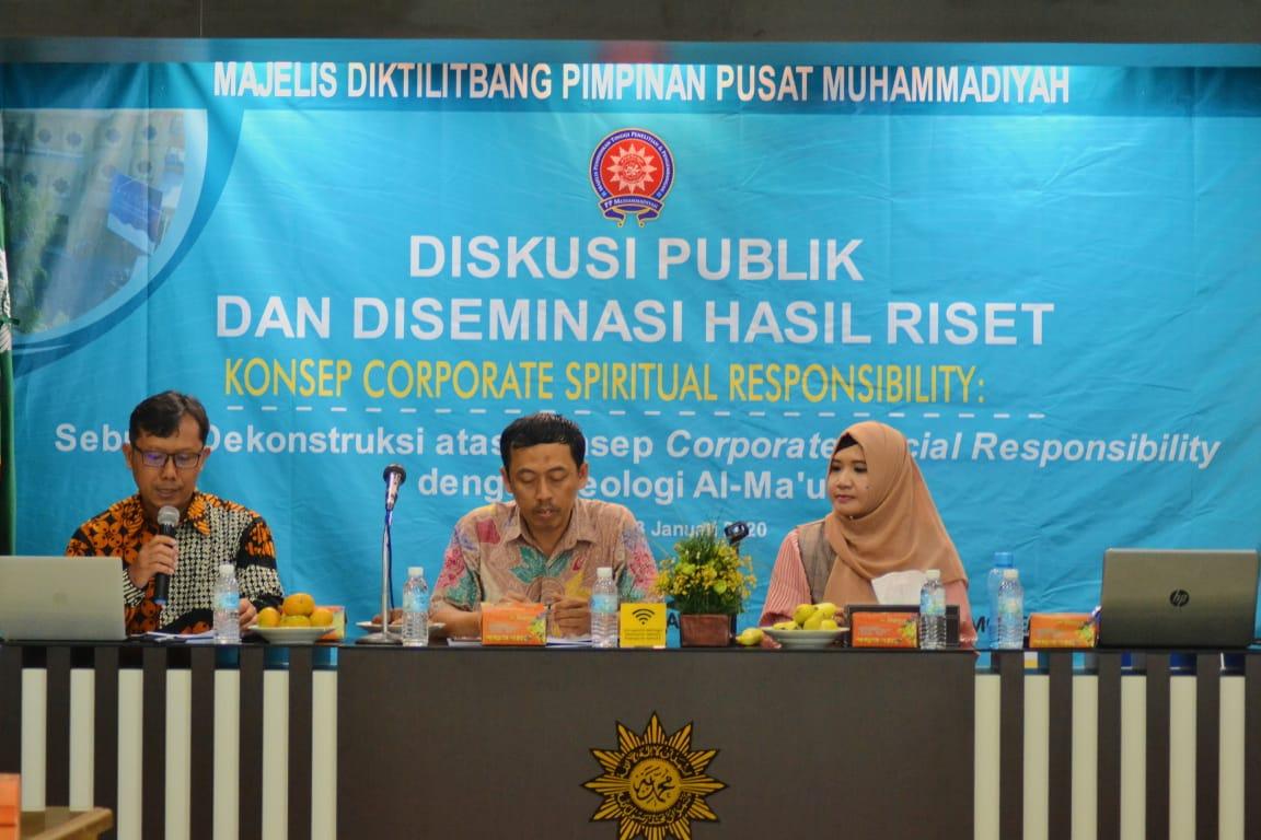 CSpR Dekontruksi CSR dengan Teologi Al-Ma'Un