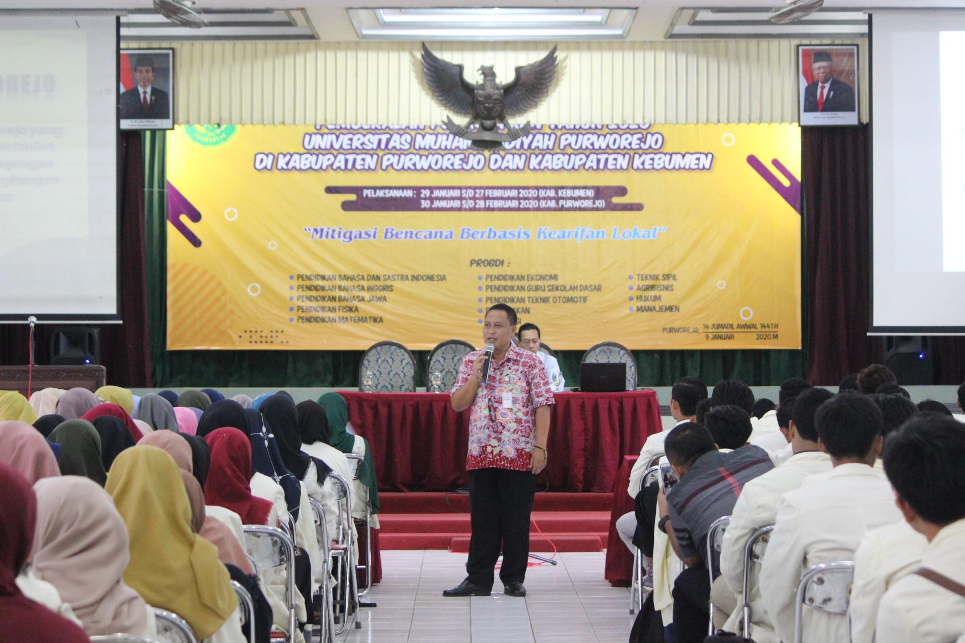 KKN UM Purworejo Prioritaskan Daerah Rawan Bencana