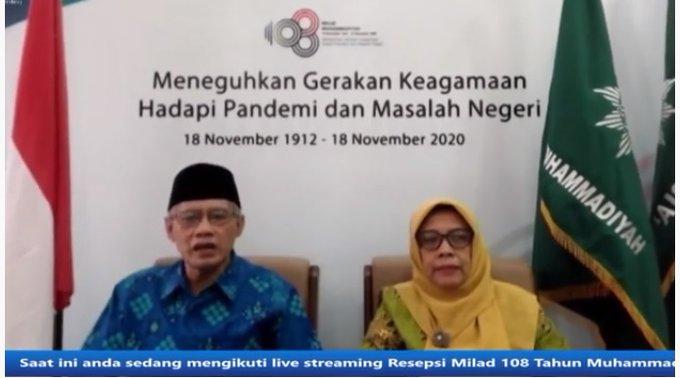 """Milad ke-108, Muhammadiyah Berikan penghargaan """"Bakti untuk Negeri"""" pada Kader"""