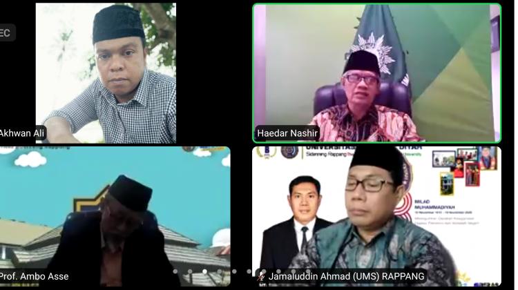 Pesan Pimpinan Pusat Muhammadiyah Untuk UMS Rappang
