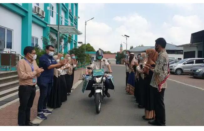 Motor Relawan Perpustakaan UMSU Dorong Minat Baca Masyarakat