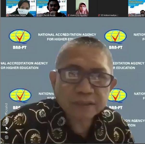 PPG FKIP UMS Jalani Asesmen Akreditasi untuk Pertama Kalinya Secara Online