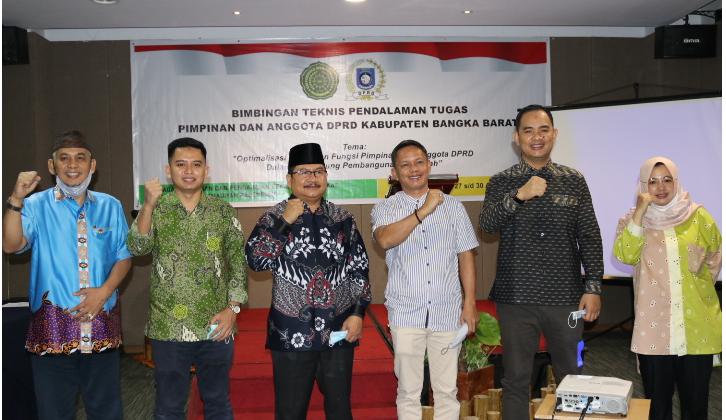 Kemendagri Tunjuk UM Palembang Gelar Bimtek Bagi Anggota DPRD Bangka Barat