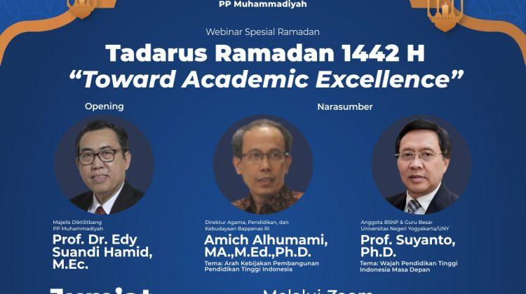 "Tadurus Ramadan ""Towards Academic Excellence"""