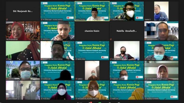 Halal Bihalal Virtual Unimus Pererat Silaturahmi