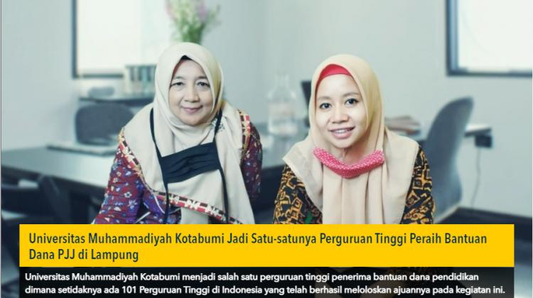UMKO Satu-satunya Kampus Raih Bantuan Dana PJJ di Lampung