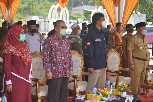 Sumur Air Bersih dari UM Riau untuk Warga Sukaramai