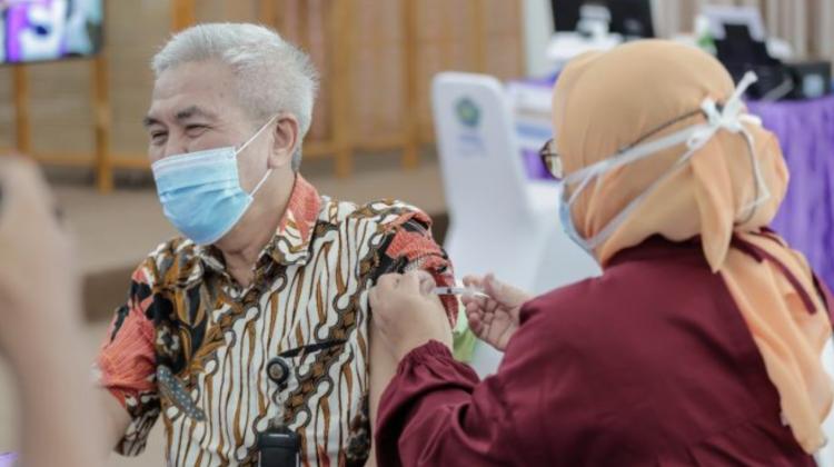Vaksinasi di UMSU Rangkul Tokoh Lintas Agama