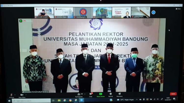 Prof Herry Suhardiyanto Resmi Jabat Rektor UM Bandung