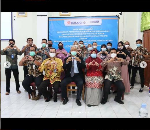 UM Papua Jalin Kerja Sama dengan Bulog Kanwil Papua dan Papua Barat