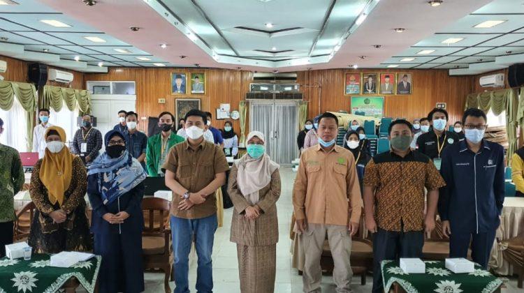 Pelatihan Desain dan Pengelolaan Website dari UM Palembang