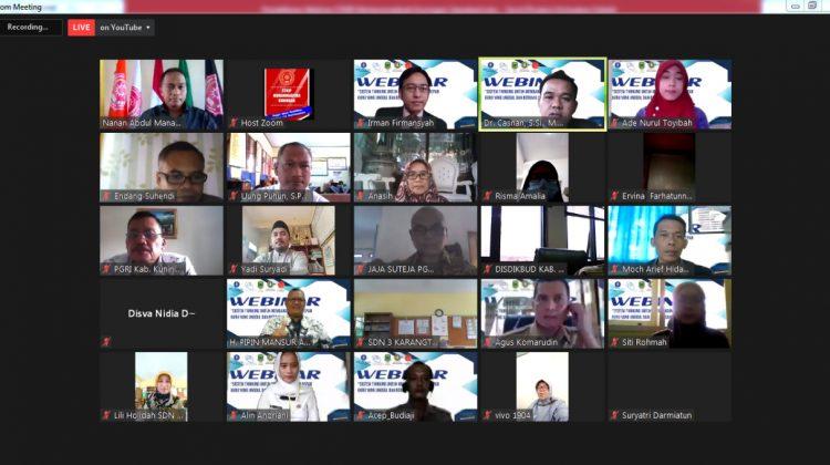 STKIP Muhammadiyah Kuningan Gelar Webinar untuk Guru