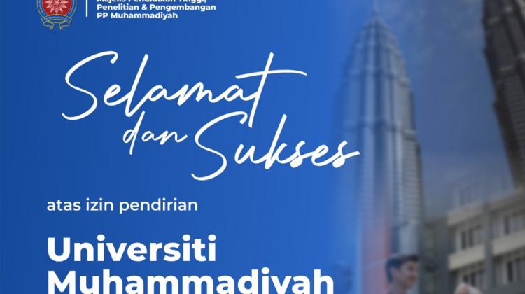 UMAM Resmi Jadi Perguruan Tinggi Pertama di Luar Negeri