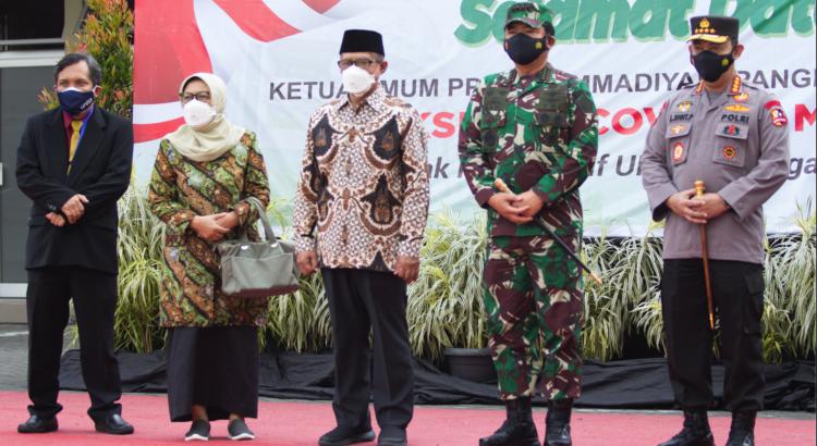 UNISA Yogyakarta Gelar Vaksinasi Kuota 6500 Peserta