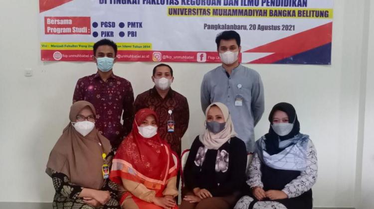 Rapat Koordinasi FKIP Unmuh Bangka Belitung Fokuskan Tridharma