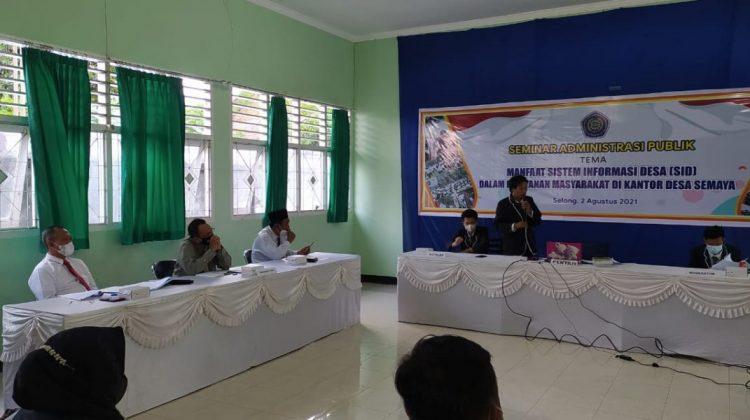 STIA Muhammadiyah Selong Dukung Sistem Informasi Desa