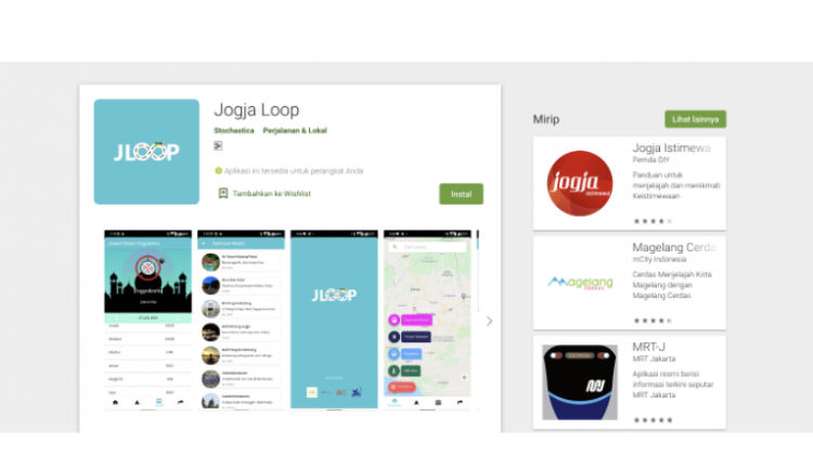Aplikasi JogjaLoop Inovasi Dosen UMY Ciptakan Kota Inklusif