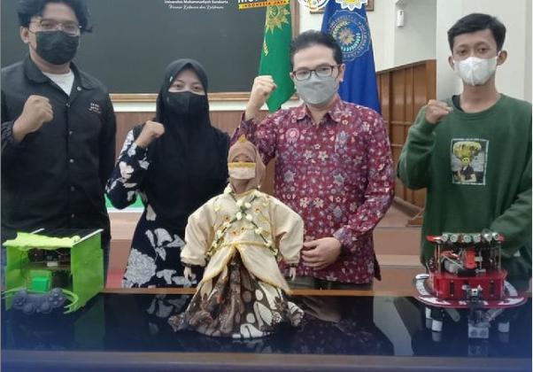 UM Surakarta Siap Ikuti Kontes Robot Indonesia