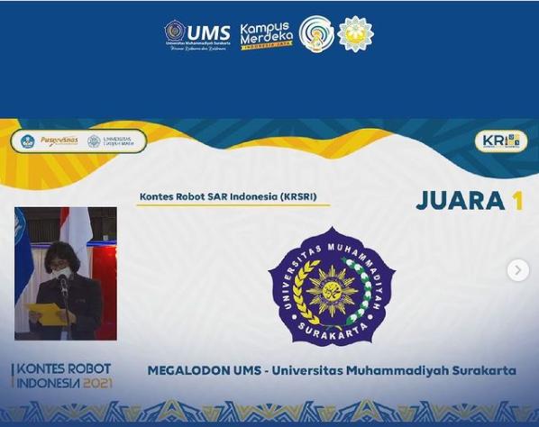 Tim Megalodon UMS Raih Juara 1 dan Best Strategi SAR