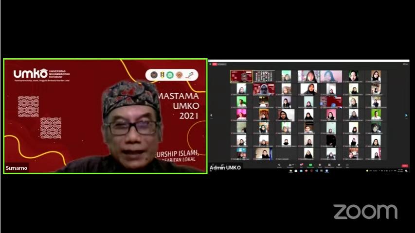 Mastama Online UM Kotabumi Awali Tahun Akademik 2021/2022