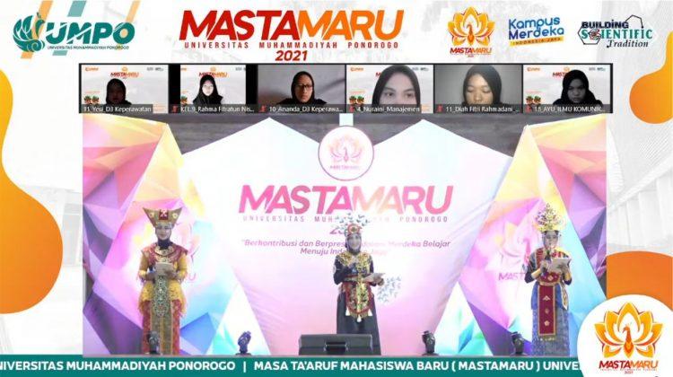 Mastamaru UMPO Sambut 1.488 Mahasiswa Baru