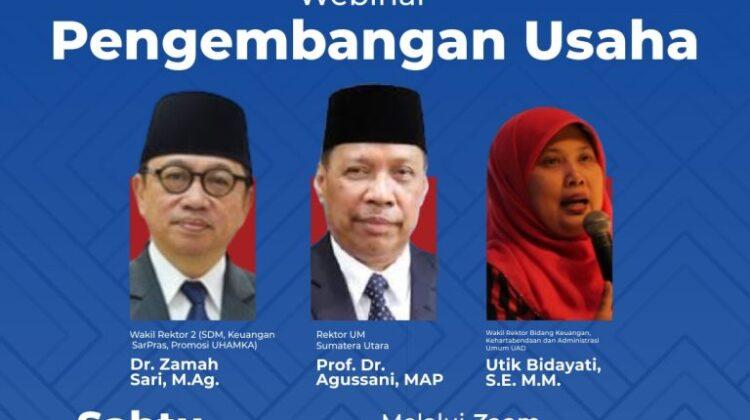 Business Development Webinar: Business Unit encourages Muhammadiyah-'Aisyiyah Higher Education Institution Income
