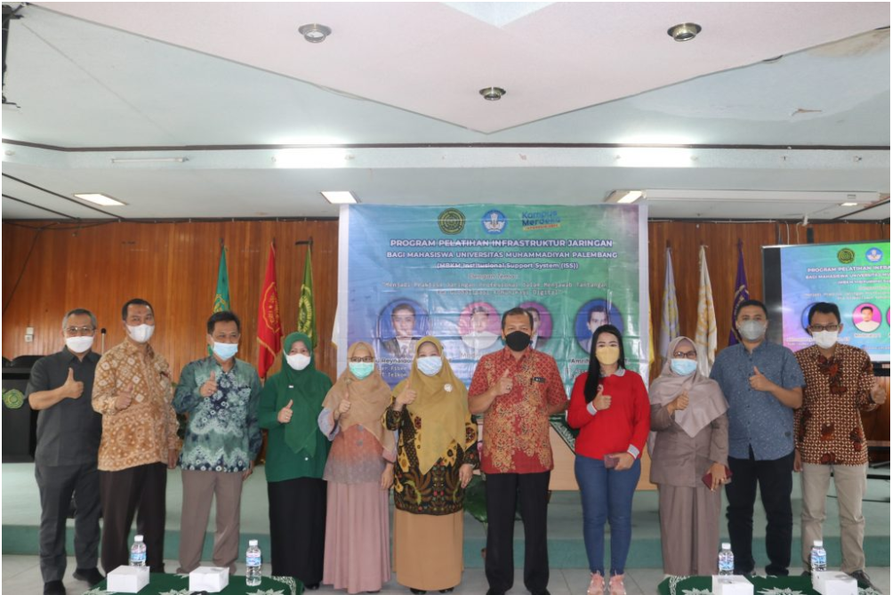 UM Palembang Adakan Pelatihan Infrastruktur Jaringan