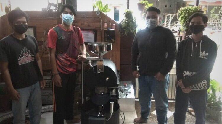 Mahasiswa UMM Ciptakan Alat Roasting Biji Kopi