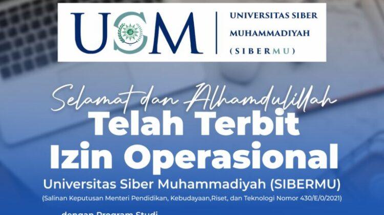 Operational Permit of SiberMu University is Issued
