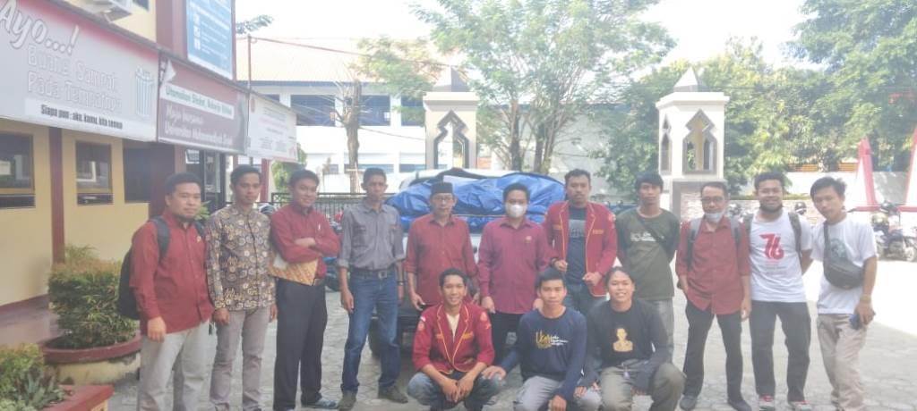 Aliansi Mahasiswa UMSi Salurkan Bantuan pada Korban Bencana Luwu