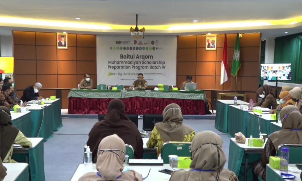 Prof Syamsudin dan Dahlan Rais Isi Baitul Arqam MSPP Batch IV