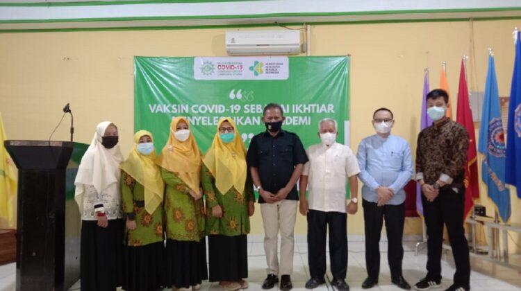 UM Kotabumi Menjadi Lokasi Pelaksanaan Vaksinasi