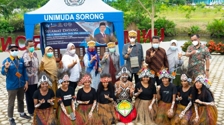 Director General of Higher Education Acknowledged UNIMUDA Sorong's Achievements