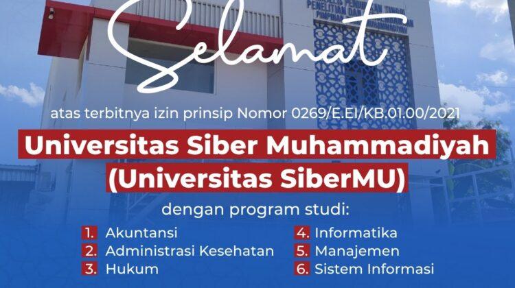 Principle Permit of Muhammadiyah Cyber University is Issued