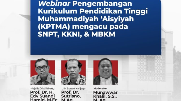 Curriculum Development of PTMA is In Line with Muhammadiyah Ideal