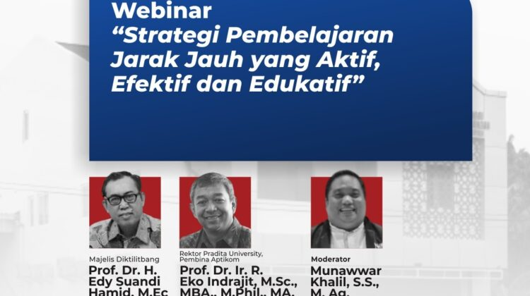 Strategies of An Active, Effective and Educative Distance-Learning Webinar