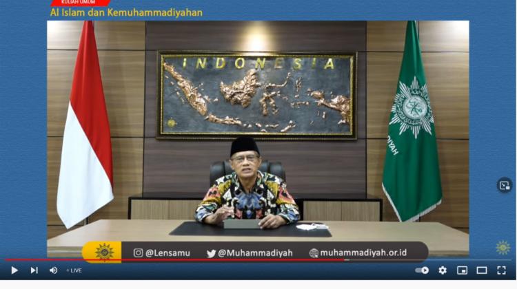 Mahasiswa Baru PTMA Se-Indonesia Ikuti Kuliah Umum AIK